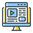Seo Web Video Icon