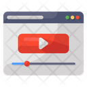 Video Website Webpage Video Video Streaming Icon