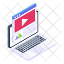 Online Video Web Video Video Website Icon