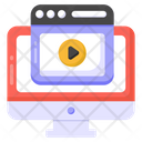 Video Website Web Video Online Video Icon