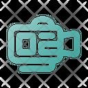 Videocamera Videography Media Icon