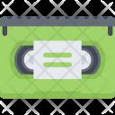Videocassette Data Computer Icon