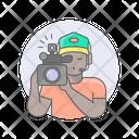 Videographer Guy Man Icon