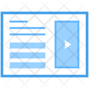 Web Interface Videography Video Marketing Icon