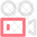 Videography Video Shoot Icon