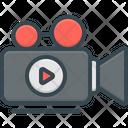 Videography Video Camera Movie Camera Icon