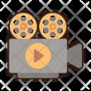 Videography Movie Camera Camcorder Icon