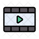 Videoplayer Video Film Icon