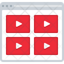 Videos Layout Video Layout Icon