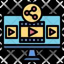 Videosharing Icon