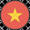 Vietnam Vietnamese Asian Icon
