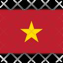 Flag Country Vietnam Icon