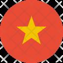 Vietnam Flag Country Icon