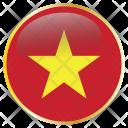 Vietnam Country Flag Icon
