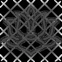 Vietnam Emblem Lotus Flower Icon