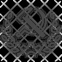 Vietnam Emblem Communist Logo Icon