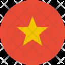 Vietnam Flag World Icon