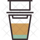Vietnamese Hot Brew Coffee Icon