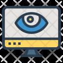View Screen Monitor Icon