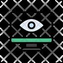 Eye View Checkup Icon