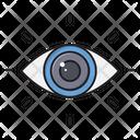 View Optical Lens Icon
