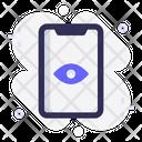 Mobile View Eye Icon