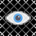 Eye Vision Optical Icon