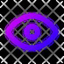 View Eye Visible Icon