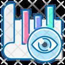 View Analysis Bar Chat Market Wath Icon