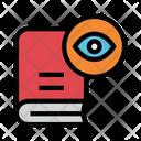 Book View Eye Icon