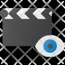 Clapper View Clip Icon