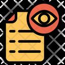 View Document Icon