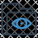 Folder View Data Icon