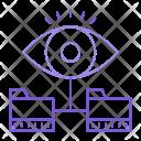Folder Eye View Icon