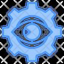 Vision Gear Analyze Icon