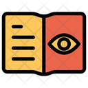 Eye Notebook Search Icon