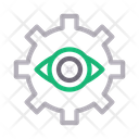 View Setting Gear Icon