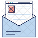 View Web Post Communication Email Icon