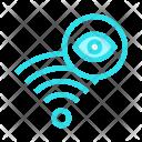 Wifi Eye Look Icon