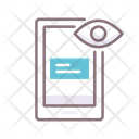 Viewability Eye Marketing Icon