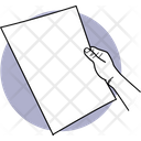 Viewing Paper Holding Paper Paper Icon