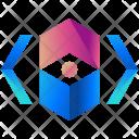 Views Logogram Shape Icon