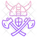 Viking War Weapon Icon