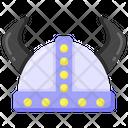 Viking Head Icon
