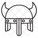 Helmet Viking Knight Icon