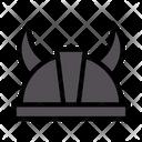 Helmet Viking Warrior Icon