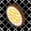 Viking Shield Isometric Icon