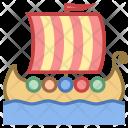 Viking Ship Icon