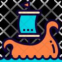 Vikings Ship Game Icon