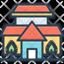 Villa House Cottage Icon